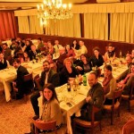 Maxwell PAIA Food Security Class Enjoying a Thanksgiving Meal in Rome, Italy